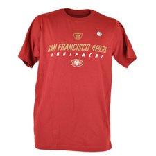 34e0f6ee2 NFL Reebok San Francisco 49ers Equipment Football T-Shirt